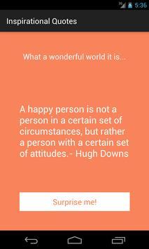 Inspirational Quotes! apk screenshot