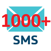 1000+ SMS icon