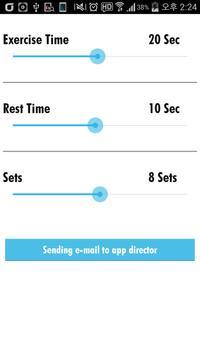Simple Tabata Timer apk screenshot