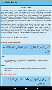 Panduan Sholat screenshot 5