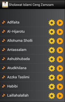 Sholawat Islami Ceng Zamzam screenshot 1