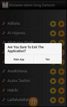 Sholawat Islami Ceng Zamzam screenshot 3