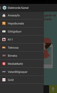 Alışveriş: Genel/Elektronik screenshot 2