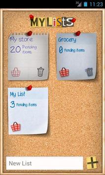 Shopping List - ListOn Free apk screenshot