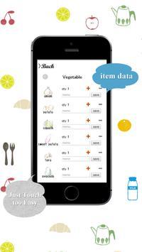 Shopping list app screenshot 3