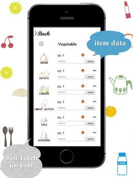 Shopping list app screenshot 11