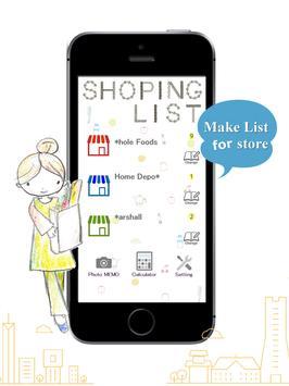 Shopping list app screenshot 5