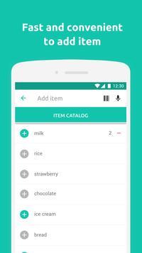 Shopping List - Pantry List & Grocery apk screenshot