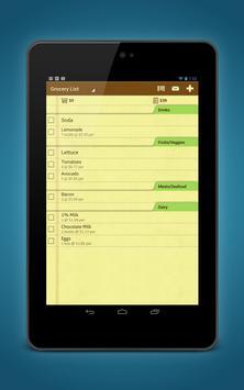 Grocery Shopping List Ease apk screenshot