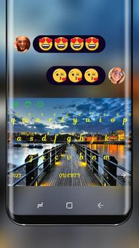 Dawn Dock Keyboard poster