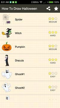 How To Draw Halloween screenshot 1
