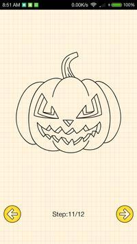 How To Draw Halloween screenshot 4