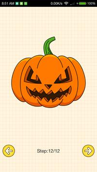 How To Draw Halloween screenshot 5