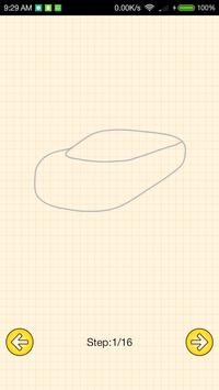 How To Draw Supercars screenshot 2