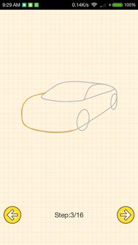 How To Draw Supercars screenshot 4