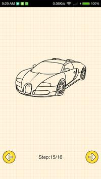 How To Draw Supercars screenshot 5
