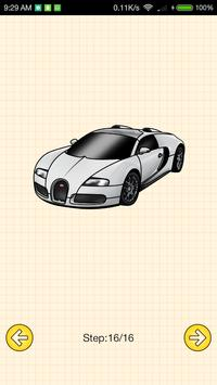 How To Draw Supercars screenshot 6