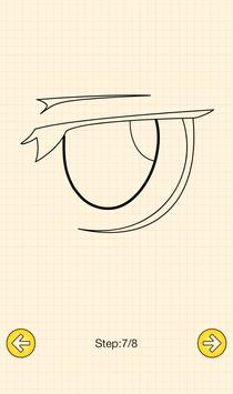 How To Draw Anime Eyes screenshot 5