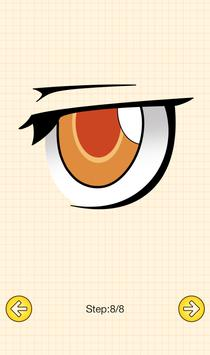 How To Draw Anime Eyes screenshot 6