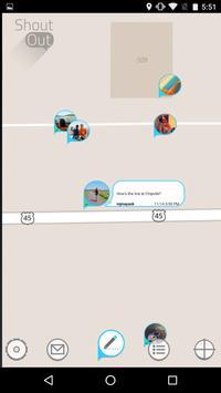 Shoutout - The Social Map apk screenshot
