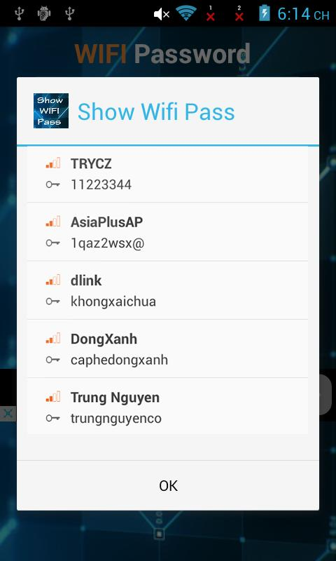 Show Wifi Password Root For Android Apk Download