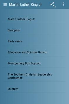 Martin Luther King Jr screenshot 1