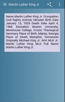 Martin Luther King Jr screenshot 3