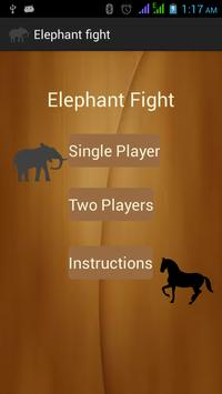 elephant fight poster