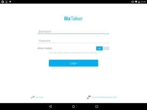 BizTalker screenshot 1