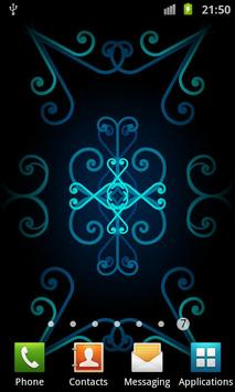 Swirling Ornaments LWP - Free poster