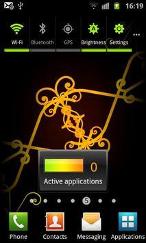 Swirling Ornaments LWP - Free screenshot 6