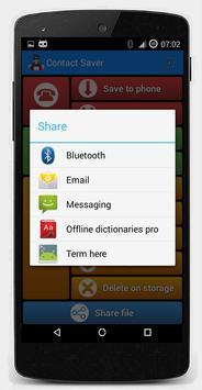 Contact Saver screenshot 4