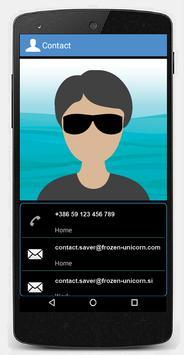 Contact Saver screenshot 2