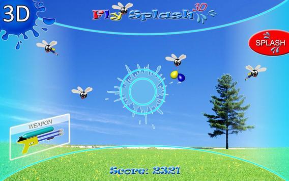 Fly Splash 3D poster