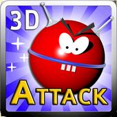 UFO Attack 3D Live LITE icon