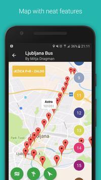 Ljubljana Bus poster