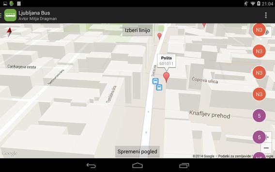 Ljubljana Bus screenshot 6