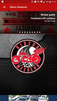 Bikers Weekend poster