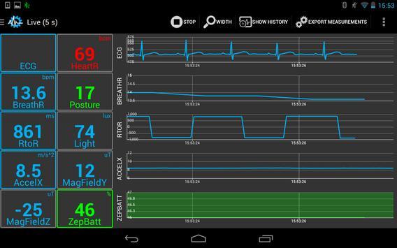 SenseView BT SensorTag Sensor screenshot 3