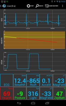 SenseView BT SensorTag Sensor screenshot 1