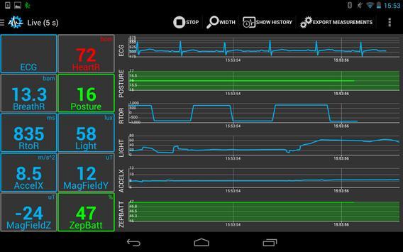SenseView BT SensorTag Sensor screenshot 4