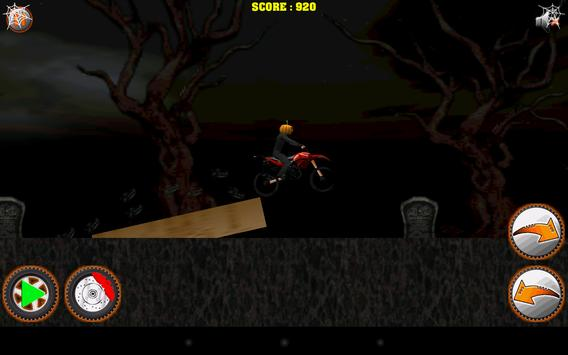 Halloween Bike rider game screenshot 10