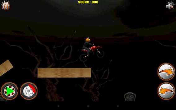 Halloween Bike rider game screenshot 13