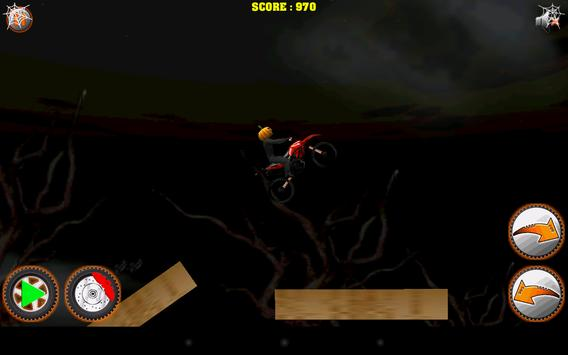 Halloween Bike rider game screenshot 5