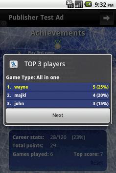 Quiz Challenge NHL apk screenshot