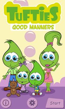 Tufties Good Manners Free poster
