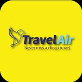 TravelAir - Best Price Booking Hotel icon