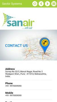 SanAir Systems apk screenshot