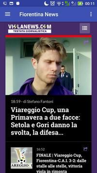Fiorentina News apk screenshot