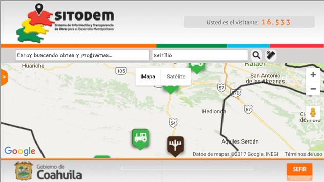 Sitodem Coahuila screenshot 2